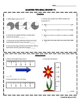 Math Skill Sheet #4