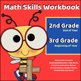 Math Skill Workbook - 2nd Grade: End of Year / 3rd Grade: Beginning of the Year