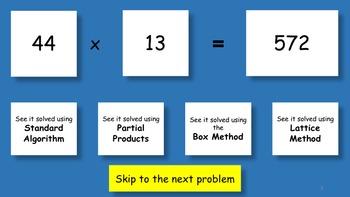 Math Skills 3 digit multiplication