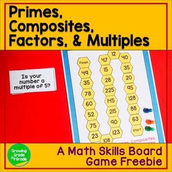Math Board Game Freebie