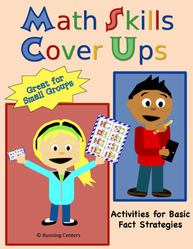 Math Skills Cover Ups - Gr. 2 Fact Strategies for Fluency - Math Mat Games