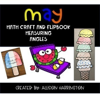 Math Skills Crafts and Flip Books for the Year: The Bundle