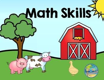 Math Skills:  Down on the Farm