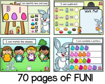 Math Skills Easter Fun Promethean Flip Chart