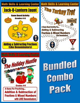 Math Skills & Learning Center Combo Pack (Add & Subtract L