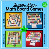 Math Board Games 4-Pack Common Core Aligned