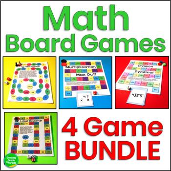 Math Board Games By Growing Grade By Grade Teachers Pay Teachers