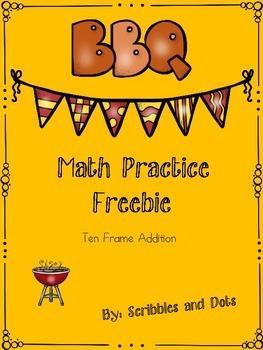 Math Skills Practice - Summer BBQ Freebie