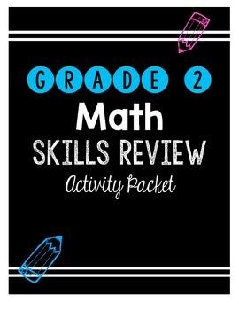 {Grade 2} Math Skills Review Packet