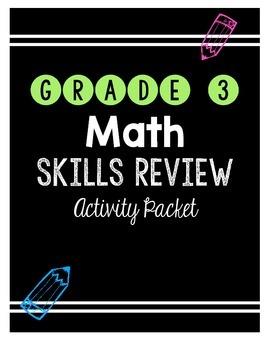 {Grade 3} Math Skills Review Packet