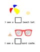 Math Skills: SIZES Big/Small (Beach Theme)