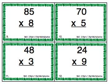 Math Skills Scoot Bundle