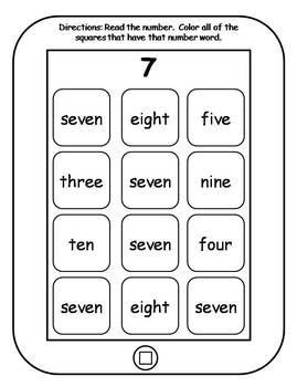 Math Skills Tablets {BUNDLE}