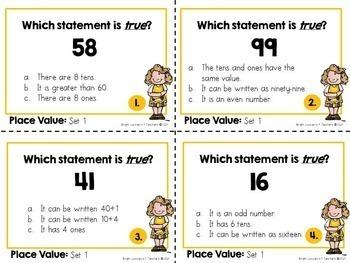 Math Skills Task Card BUNDLE *Over 400 Cards Included*