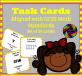 Math Skills Task Cards