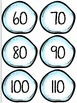 Math Skip Counting Snowballs (Sets - 2's, 3's, 5's, 10's)