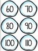 Math Skip Counting Snowballs                (Sets - 1's through 12's)
