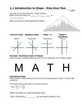 Math: Slope (Rise/Run, Grade, Elevation) - Workplace Apprenticeship Math
