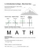 Math: Slope (Rise/Run, Grade, Elevation) - Workplace Appre