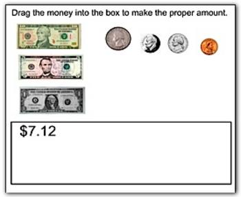 Math Smartboard Lesson - Counting Money Smartboard