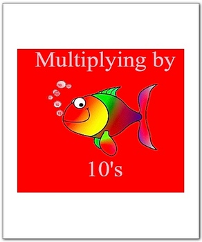 Math Smartboard Lesson Multiplication Facts 10's Smartboard