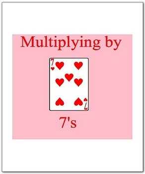 Math Smartboard Lesson Multiplication Facts 7's Smartboard