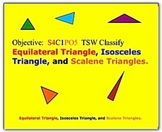 Math Smartboard Lesson Types of Triangles Smartboard