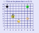 Math Smartboard Lessons - Ordered Pairs  Grid Points