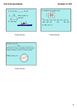 Math Smartslides for 10 min. Math