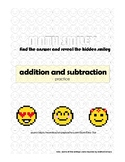 Math Smileys - addition and subtraction practice