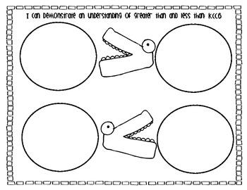Math Snack Mats {Common Core aligned}