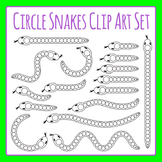 Math Snakes - Blank Circle Snakes Clip Art Pack for Commercial Use