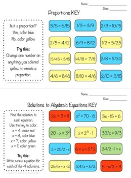 Math Snaps 5th-7th {30 Different Math Topics to Assess Your Students}