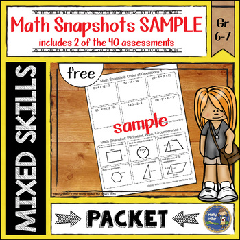 Math Snapshots SAMPLE