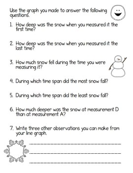 Math Snow-work!  (FUN homework for snow days!) Common Core Aligned