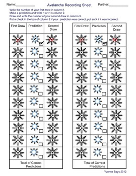 Math Snowflake Games K - 1