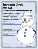 Math Snowman Glyph