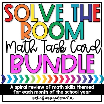 Math Solve the Room (or Scoot!) Bundle