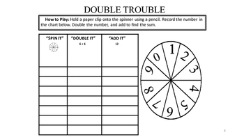 Math Song: Doubles!