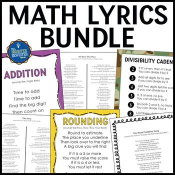 Math Songs and Rhymes Bundle