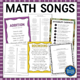 Math Songs Bundle