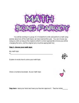 Math Song Parady