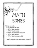 Math Songs-Geometry, Transformations, Integers