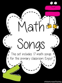 Math Songs Posters