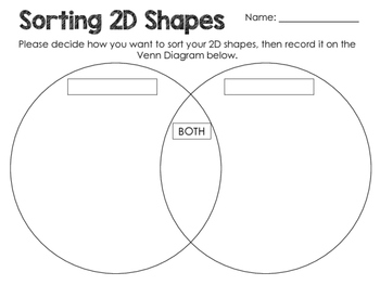 Math- Sorting 2D Shapes