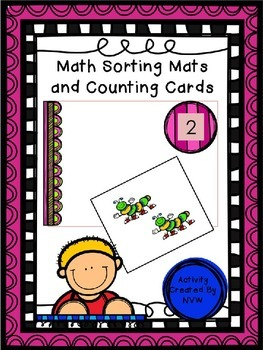 Math Sorting Mats and Counting Cards
