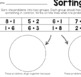 Math Sorting Sheets - Addition Level 1