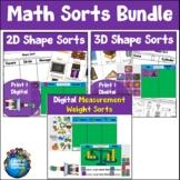 Math Sorts Bundle
