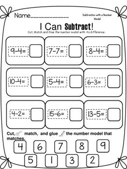 Math Sorts- Facts 1-20