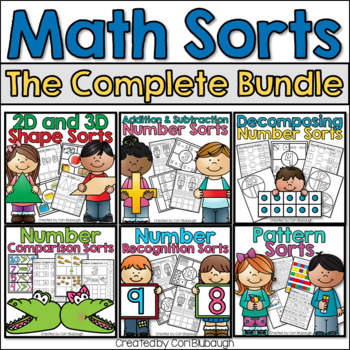 Math Sorts Complete Bundle